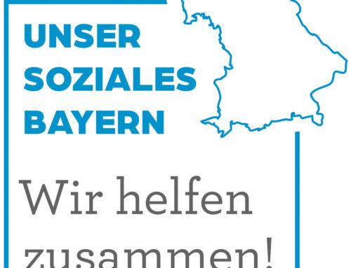 """Initiative """"Unser Soziales Bayern: Wir helfen zusammen!"""""""