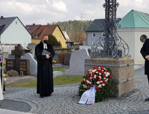 Windischeschenbach gedenkt Corona-Opfer